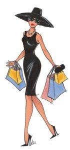 cartoon shopper